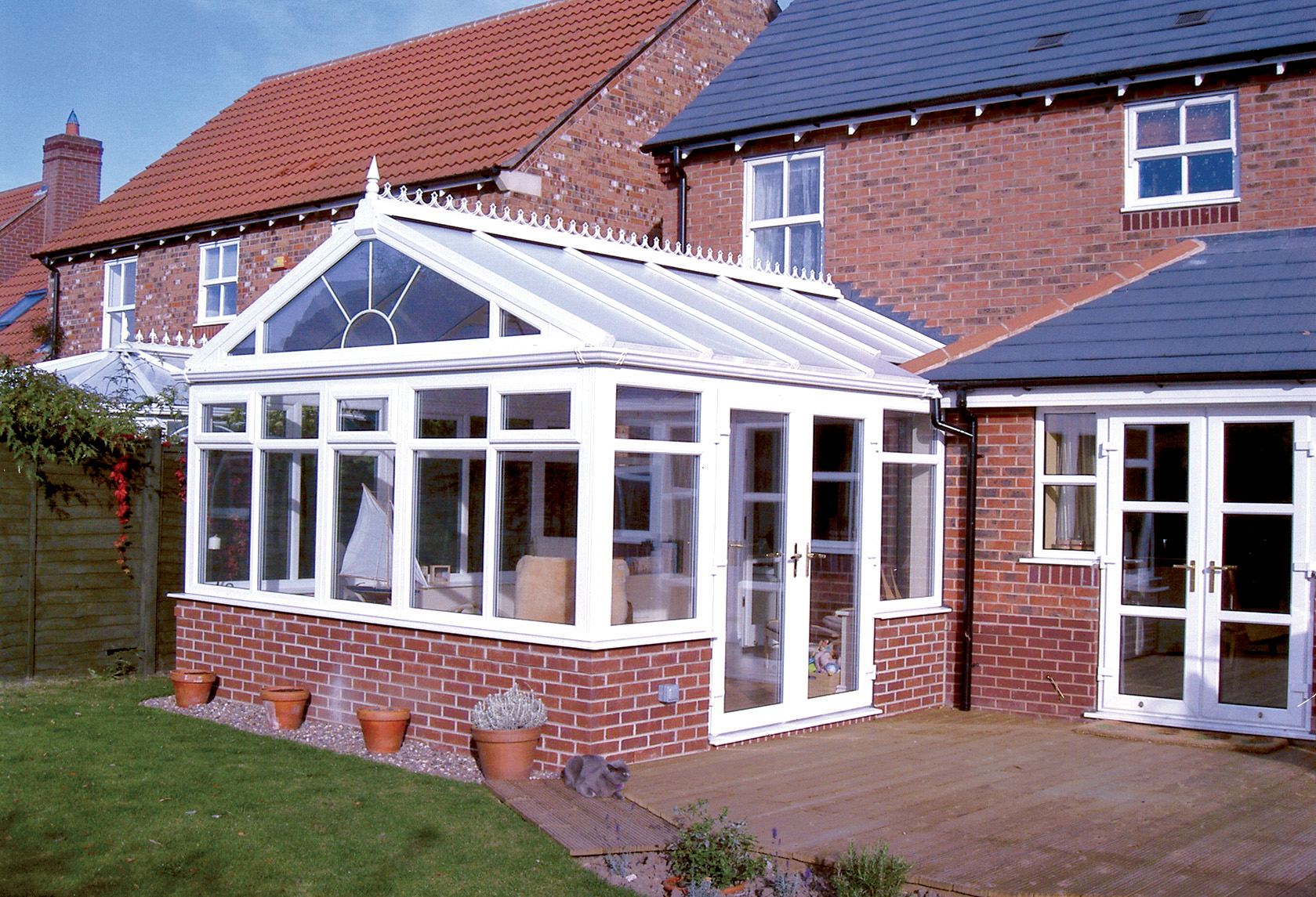 Gable Fronted Conservatory in Manchester by Elite Windows