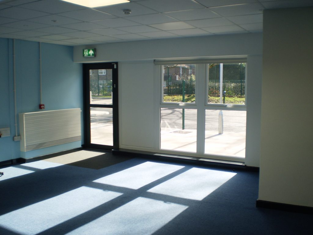 Excellent exposure to natural light for the pupils